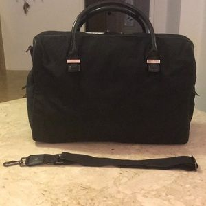 Gucci Vintage Large weekend bag black unisex